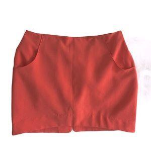 Lush Neon Skirt with Pockets Medium